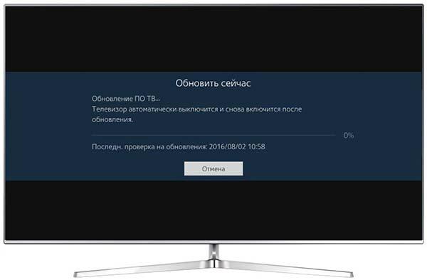 обновление smart hub на телевизоре samsung